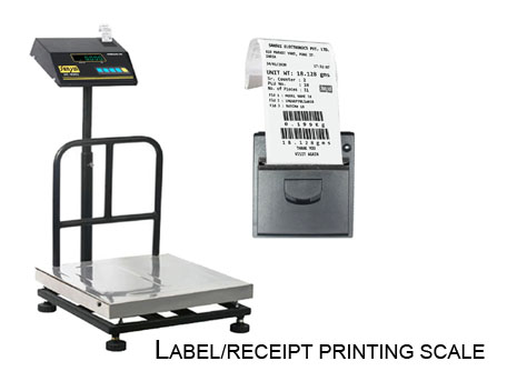 LABEL/RECEIPT PRINTING SCALE