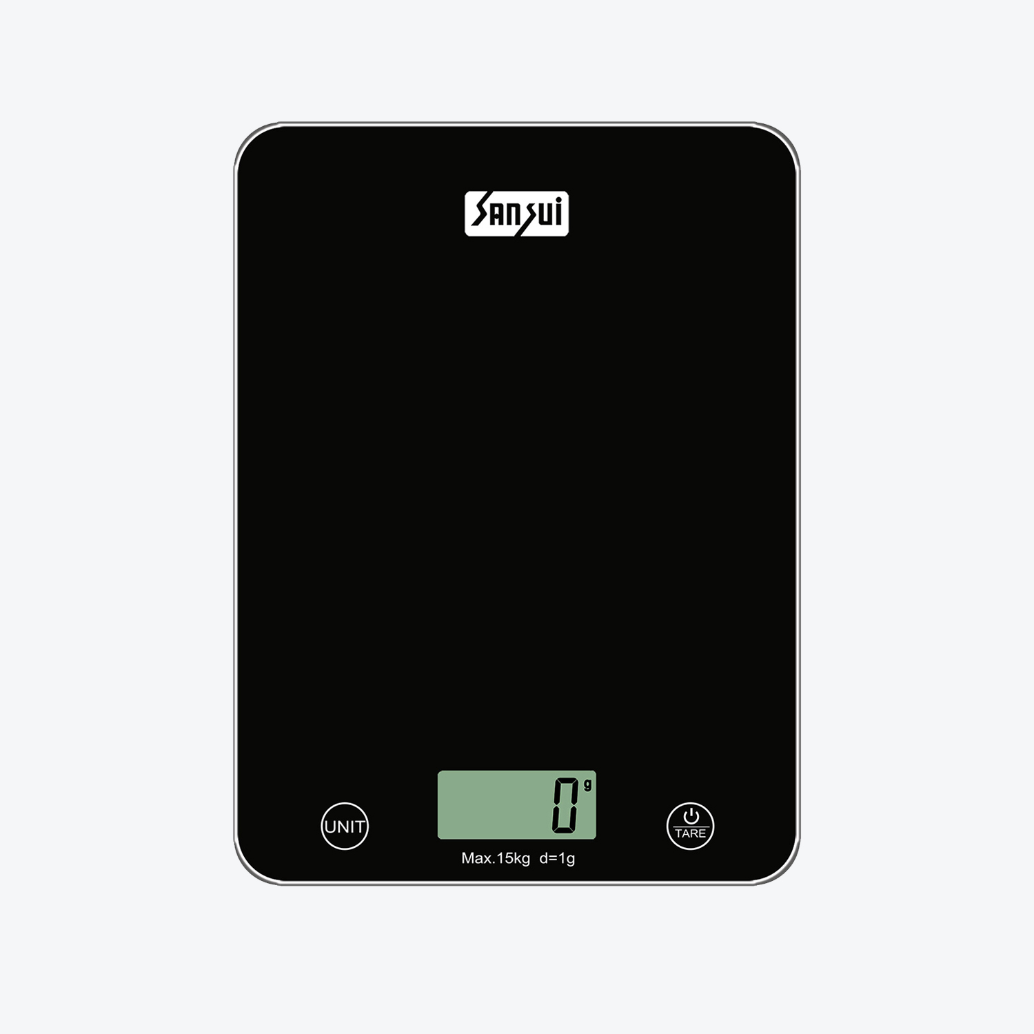 Sansui Kitchen Scale Flat, digital kitchen scale, weighing machine