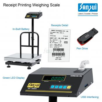 Label/Receipt Printing Scale-PLT