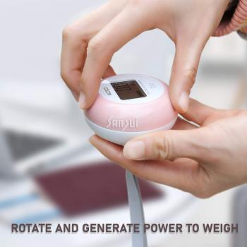 Battery-Free Portable Digital Luggage Scale