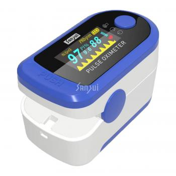 Sansui Digital Fingertip Pulse Oximeter Blue